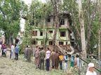 कार में जब विस्फोट किया तो मलबा उड़कर 50 मीटर ऊपर तक गया, मकानों की खिड़कियां टूट गईं देश,National - Money Bhaskar