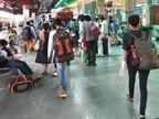 दिल्ली से ट्रेन चली तो न सोशल डिस्टेंसिंग के एहतियात, न ही नाम-पता पूछा, सिर्फ बॉडी का टेम्प्रेचर देख दे दी मुसाफिरों को एंट्री देश,National - Dainik Bhaskar