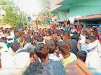 सोनभद्र में सड़क दुर्घटना में मृत युवक का शव पहुंचने पर गांव में कोहराम|गढ़वा,Garhwa - Dainik Bhaskar