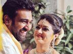 चिरंजीवी सरजा की प्रेग्नेंट पत्नी मेघना ने लिखा, 'हमारे बच्चे के रूप में तुम्हारी वापसी का और इंतजार नहीं कर सकती'|बॉलीवुड,Bollywood - Dainik Bhaskar