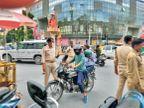 आपका महकमा सिर्फ हेलमेट जांच रहा, इसी की आड़ में बढ़ रहे अपराध|रांची,Ranchi - Dainik Bhaskar