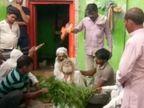अलीगढ़ में साधु को सांप ने डसा, झाड़-फूंक से जोखिम में पड़ी जान, पुलिस ने पहुंचाया अस्पताल|उत्तरप्रदेश,Uttar Pradesh - Dainik Bhaskar