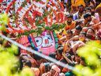 7 दिन बाद रथयात्रा अपने मुख्य मंदिर पहुंची, इसे कहा जाता है बहुड़ा यात्रा, 2500 साल में पहली बार आम भक्त यात्रा में शामिल नहीं हुए|धर्म,Dharm - Dainik Bhaskar