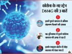 कोरोना का एक और नया रूप मिला, इसे नाम दिया D614G; यह पुराने वायरस पर भारी और इसमें संक्रमण फैलाने की अधिक क्षमता लाइफ & साइंस,Happy Life - Dainik Bhaskar