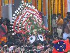 12 दिन बाद आज फिर मंदिर में प्रवेश करेंगे भगवान जगन्नाथ, रथों को तोड़कर उनकी लकड़ियां जलाई जाएंगी मंदिर की रसोई के चूल्हों में|जीवन मंत्र,Jeevan Mantra - Dainik Bhaskar