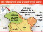 नेपाल के साथ 98% सीमाएं तय; लेकिन चीन का हमारी 43,180 और पाकिस्तान का 78 हजार वर्ग किमी पर कब्जा, ये तीन स्विट्जरलैंड के बराबर|DB ओरिजिनल,DB Original - Dainik Bhaskar