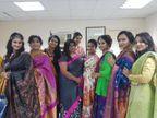 लॉकडाउन में महिलाओं को प्रमोट किया जसीना के फेसबुक पेज ''साड़ी इन स्टाइल'' ने, जागरूकता फैलाने का बना बेहतर जरिया|लाइफस्टाइल,Lifestyle - Dainik Bhaskar