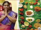 आंध्र प्रदेश की महिला ने अपने दामाद के लिए बनाईं 67 डिशेज, उनके रेस्टोरेंट में इस थाली को ऑर्डर करके बनवाने की सुविधा भी है|लाइफस्टाइल,Lifestyle - Dainik Bhaskar