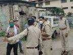 इंदौर में एक्सिस बैंक से 5 लाख लूटने वाले 3 बदमाश पकड़े गए; पुलिस मुठभेड़ में 2 के पैर में गोली लगी, एक दीवार से गिरकर घायल|मध्य प्रदेश,Madhya Pradesh - Dainik Bhaskar