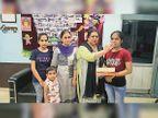 पिता की मौत पर 3 माह नहीं गई स्कूल, प्रिंसिपल के मोटीवेशन पर की तैयारी, शिवानी बनी जिला टाॅपर|फिरोजपुर,Firozpur - Dainik Bhaskar