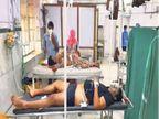 पीछा करती पुलिस पर फायर करता बदमाश बोला- सरेंडर नहीं करूंगा, मार दो, नहीं तो मैं मार दूंगा|जोधपुर,Jodhpur - Dainik Bhaskar