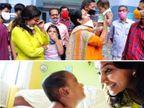 केरल के कोरोना पॉजिटिव कपल के बच्चे को डॉ. मैरी अनिथा से मिला मां का प्यार, अपने तीन बच्चों से दूर रहकर एक माह तक अकेले की छह माह के एलविन की देखभाल|लाइफस्टाइल,Lifestyle - Dainik Bhaskar