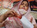 भाजपा नेत्री ने एएमयू वीसी को भेजी चूड़ियां, विधायक अनिल पाराशर बोले- आतंकवादी मानसिकता वालों पर कार्रवाई हो|उत्तरप्रदेश,Uttar Pradesh - Dainik Bhaskar