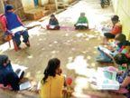 गांव में लॉकडाउन से पढ़ाई-लिखाई ठप हुई तो 14 साल की नंदिनी ने शुरू कर दी अपनी पाठशाला