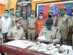 चंदौली में एक करोड़ की करेंसी के साथ युवक गिरफ्तार, इसमें 41.84 लाखरुपएके विदेशी नोट, कोलकाता जा रहा था आरोपी|उत्तरप्रदेश,Uttar Pradesh - Dainik Bhaskar