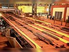 यूआरएम ने सबसे ज्यादा 52 हजार टन लंबी रेलपांत का किया उत्पादन