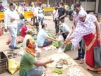 दुर्ग में रक्षाबंधन के दिन सुबह खुलेंगी मिठाई और राखी की दुकानें, प्रतिबंध के खिलाफ कारोबारियों ने सब्जी बेचकर किया था विरोध