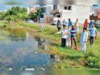 सेक्टर 3 व 4 में जलभराव का समाधान नहीं होने पर निवासियों ने दी प्रदर्शन की चेतावनी
