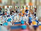 एसजीपीसी की पांच सदस्यीय टीम जांच के लिए गांव कल्याण के गुरुद्वारा अरदासपुर साहिब पहुंची