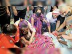रक्षाबंधन से पहले निधन...छह बहनों ने राखी बांधकर दी अंतिम विदाई