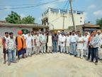 प्रदर्शन के लिए भाकियू ने किया 11 गांवों का दौरा