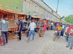 लॉकडाउन में राखी की दुकानें खुलीं, गारमेंट्स बाजार रहा बंद
