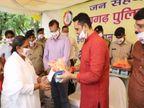 रायगढ़ पुलिस ने जिले में 6 घंटे के भीतर 12 लाख 37 हजार मास्क बांटे, वर्ल्ड रिकॉर्ड भी दर्ज हुआ