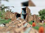 बारिश से दोमंजिला मकान ढहा, 11 वर्षीय बालिका की मौत, मां और बड़ी बहन घायल