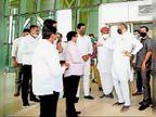 कांग्रेस नेताओं ने मुख्यमंत्री से मिलकर दी जिले की जानकारी