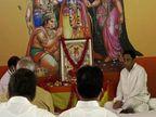 पूर्व मुख्यमंत्री कमलनाथ ने सुंदरकांड का पाठ किया; बोले-राजीव गांधी ने 1985 में मंदिर निर्माण की शुरुआत की थी, उनके कारण सपना पूरा हो रहा