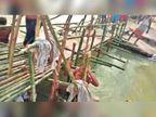 लोकमानपुर व सिंहकुंड के बाढ़ पीड़ितों को अब तक नहीं मिली नाव