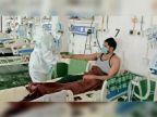 अस्पताल में कोरोना मरीजों को नर्सों ने बांधी राखी, संक्रमितों की आंखों में खुशी के आंसू