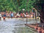 बाढ़ से बेबश: मलबे में तब्दील हुए घर, सड़क नाले की तरह नजर आ रही