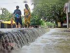 मुरौल व सकरा में जलप्रलय, मुजफ्फरपुर पूसा मार्ग पर पानी के तेज बहाव से दहशत