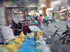 नाला सफाई में लापरवाही से डूबा शहर, मंत्री को 70 से 80 प्रतिशत की सफाई कराए जाने की दे दी फर्जी रिपोर्ट