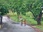 तपिश और उमस से मिली थोड़ी राहत, बैरागढ़ में आधा इंच बारिश, बाकी शहर में फुहारें