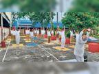 आरपीएफ के 400 जवानों ने इम्यूनिटी बढ़ाने के लिए शुरू किया योग और काढ़ा