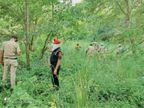 अवैध शराब के मामले में तीसरे दिन घग्गर दरिया के साथ के गांव में रेड, 2540 लीटर लाहन, 75 बाेतल शराब जब्त, 2 पकड़े