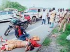 भाई को राखी बांधकर पति संग लौट रही पूजा की सड़क दुर्घटना में मौत
