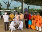 राम मंदिर भूमि पूजन में शामिल होंगे संत युधिष्ठिर; ननिहाल में जश्न की तैयारी, रायपुर में एक लाख दियों का वितरण होगा