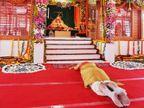 मोदी रामलला के दर्शन करने वाले पहले प्रधानमंत्री बने, 2 बार साष्टांग प्रणाम किया; पहले हनुमान गढ़ी में भी पूजा की, अयोध्या राममय हुई