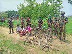 एसएसबी जवानों ने 7 बोरी यूरिया के साथ तीन नेपाली नागरिकों को पकड़ा