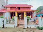 बाजार चाैक के राम मंदिर काे सजाया, आज शाम आरती के साथ की जाएगी आतिशबाजी