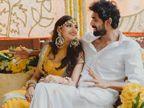 सामने आईं राणा दग्गुबाती और मिहिका बजाज की हल्दी और मेहंदी की फोटोज, 8 अगस्त को लेंगे फेरे|बॉलीवुड,Bollywood - Dainik Bhaskar