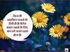 जिंदगी के बारे में 10 थॉट्स, अगर आप वही करते हैं जो करते आएं हैं, तो आपको मिलेगा भी वही जो मिलता आया है जीवन मंत्र,Jeevan Mantra - Dainik Bhaskar