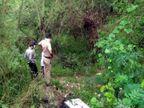 धनास लेक के पास जंगल में युवक की अधजली लाश मिली, मॉर्निंग वॉक करने आए लोगों ने पुलिस को बताया|चंडीगढ़,Chandigarh - Dainik Bhaskar