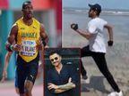 63 साल के अनिल कपूर को तेज रफ्तार में दौड़ते देख इम्प्रेस हुए जमैका के ओलंपिक विनर योहान ब्लेक, लिखा- 'अच्छे लग रहे हो मेरे दोस्त'|बॉलीवुड,Bollywood - Dainik Bhaskar
