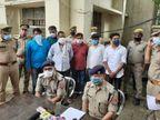 कंपनी बनाकर 59 करोड़ रुपए हड़पने वाले 9 आरोपी गिरफ्तार, कंपनी में मुनाफे का 5 फीसदी कमाने का लालच दिया था|उत्तरप्रदेश,Uttar Pradesh - Dainik Bhaskar