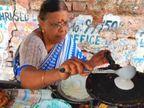 10 रुपए में चार डोसे बेचने वाली 61 साल की शारदा चोरगाडे़ को लोग कहते हैं 'डोसा अज्जी', सात साल पहले गरीबी और भूखमरी से तंग आकर शुरू किया था ये काम|लाइफस्टाइल,Lifestyle - Dainik Bhaskar
