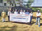 विश्व पर्यटन दिवस पर हाथी गांव का दौरा कर 60 परिवारों को मदद का वादा|जयपुर,Jaipur - Dainik Bhaskar